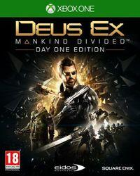 Portada oficial de Deus Ex: Mankind Divided para Xbox One