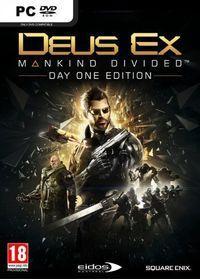 Portada oficial de Deus Ex: Mankind Divided para PC