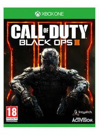Portada oficial de Call of Duty: Black Ops III para Xbox One