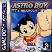 Portada oficial de Astro Boy: Omega Factor para Game Boy Advance