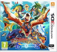 Portada oficial de Monster Hunter Stories para Nintendo 3DS