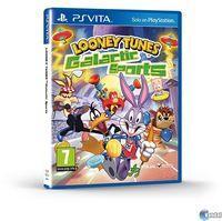Portada oficial de Looney Tunes: Deportes Galácticos para PSVITA