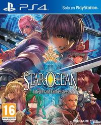 Portada oficial de Star Ocean: Integrity and Faithlessness para PS4