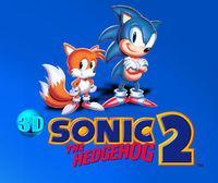 Portada oficial de 3D Sonic The Hedgehog 2 eShop para Nintendo 3DS