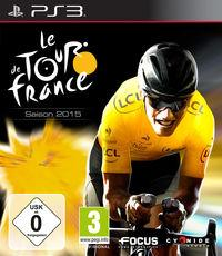 Portada oficial de Le Tour de France 2015 para PS3