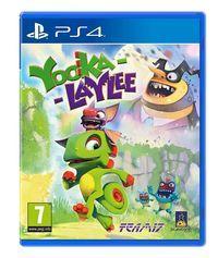 Portada oficial de Yooka-Laylee para PS4