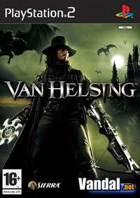 Portada oficial de Van Helsing para PS2