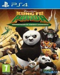 Portada oficial de Kung Fu Panda: Confrontacion de Leyendas Legendarias para PS4