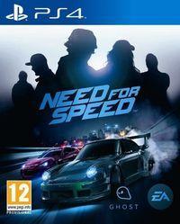 Portada oficial de Need for Speed para PS4