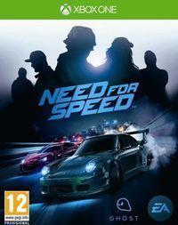 Portada oficial de Need for Speed para Xbox One