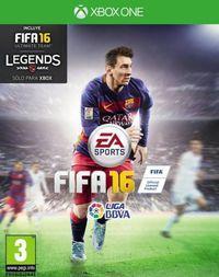 Portada oficial de FIFA 16 para Xbox One