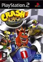 Portada oficial de Crash Bandicoot: Nitro Kart para PS2