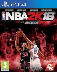 Portada oficial de NBA 2K16 para PS4