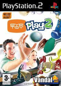 Portada oficial de EyeToy: Play 2 para PS2