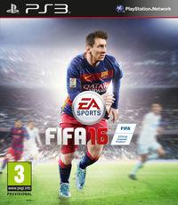 Portada oficial de FIFA 16 para PS3