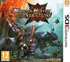 Portada oficial de Monster Hunter Generations para Nintendo 3DS
