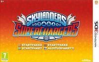 Portada oficial de Skylanders SuperChargers para Nintendo 3DS
