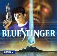 Portada oficial de Blue Stinger para Dreamcast