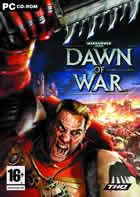 Portada oficial de Warhammer 40.000: Dawn of War para PC