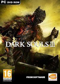 Portada oficial de Dark Souls III para PC