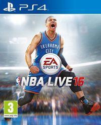 Portada oficial de NBA Live 16 para PS4