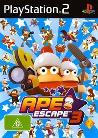 Portada oficial de Ape Escape Olympia para PS2