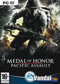 Portada oficial de Medal of Honor: Pacific Assault para PC