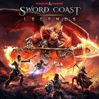 Portada oficial de Sword Coast Legends para PS4