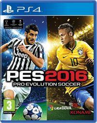 Portada oficial de Pro Evolution Soccer 2016 para PS4