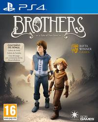 Portada oficial de Brothers: A Tale of Two Sons para PS4
