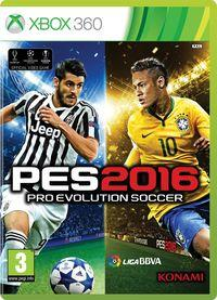 Portada oficial de Pro Evolution Soccer 2016  para Xbox 360