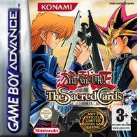 Portada oficial de Yu-Gi-Oh! The Sacred Cards para Game Boy Advance