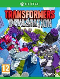 Portada oficial de Transformers: Devastation para Xbox One