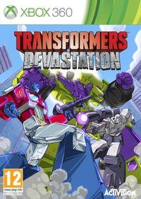 Portada oficial de Transformers: Devastation para Xbox 360