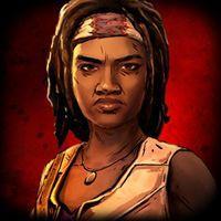 Portada oficial de The Walking Dead: Michonne para Android