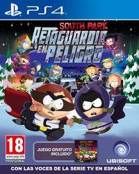 Portada oficial de South Park: Retaguardia en Peligro para PS4