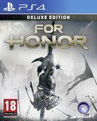 Portada oficial de For Honor para PS4