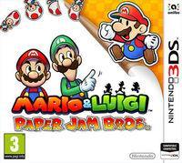 Portada oficial de Mario & Luigi: Paper Jam Bros. para Nintendo 3DS