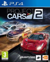 Portada oficial de Project CARS 2 para PS4