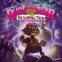 Portada oficial de Super Rude Bear Resurrection para PS4