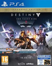 Portada oficial de Destiny: El Rey de los Poseídos para PS4