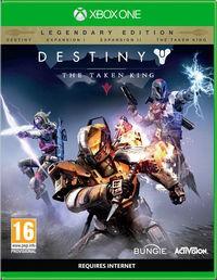 Portada oficial de Destiny: El Rey de los Poseídos para Xbox One