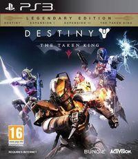 Portada oficial de Destiny: El Rey de los Poseídos para PS3