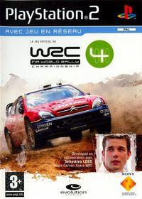 Portada oficial de WRC 4 para PS2