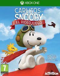 Portada oficial de Carlitos y Snoopy: El videojuego para Xbox One