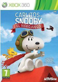 Portada oficial de Carlitos y Snoopy: El videojuego para Xbox 360