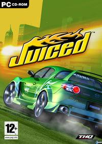 Portada oficial de Juiced para PC