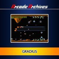 Portada oficial de Arcade Archives: Gradius para PS4