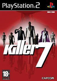 Portada oficial de Killer 7 para PS2
