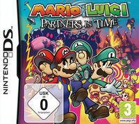 Portada oficial de Mario & Luigi: Partners in Time CV para Wii U